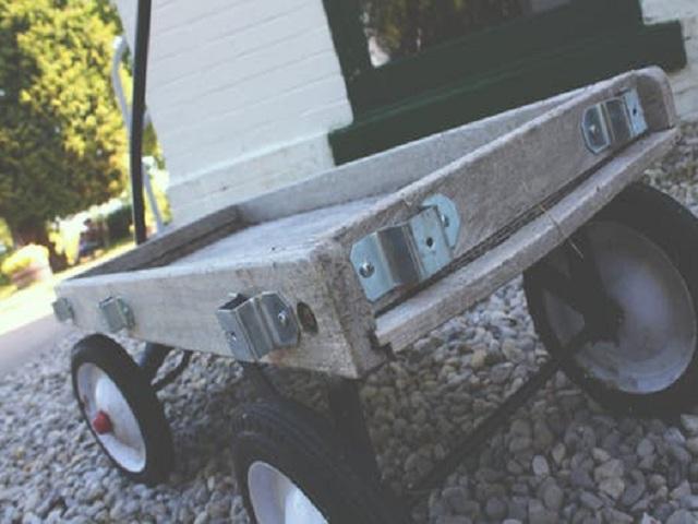 En liten släpvagn